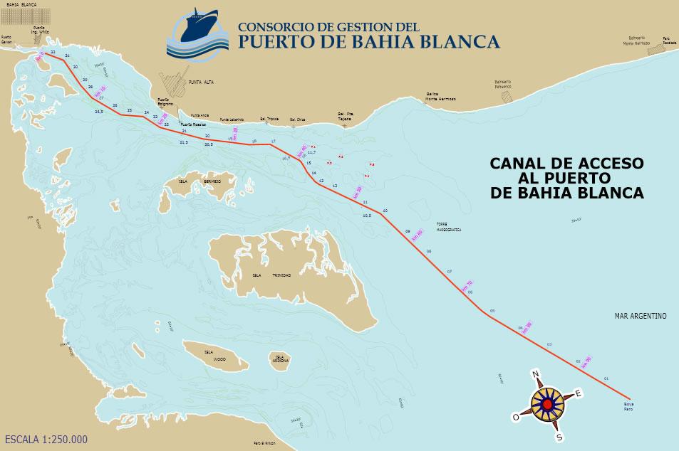Puerto de baha blanca canal de acceso canal de acceso thecheapjerseys Image collections