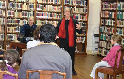 Actividades Culturales Del CGPBB En La Biblioteca Rivadavia