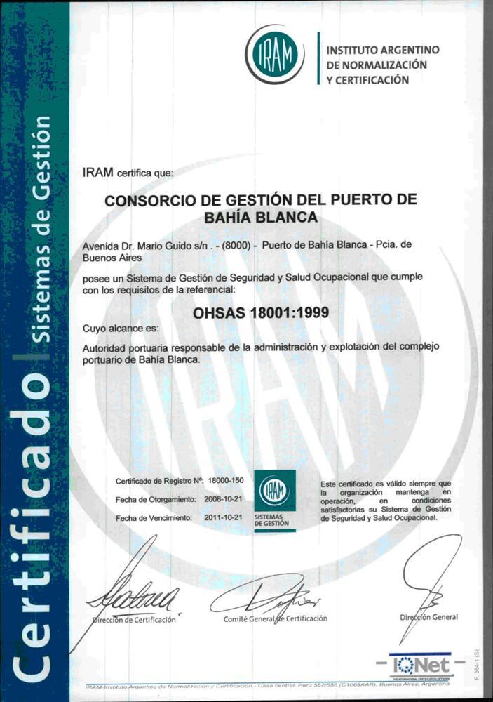 El CGPBB obtiene una nueva certificación