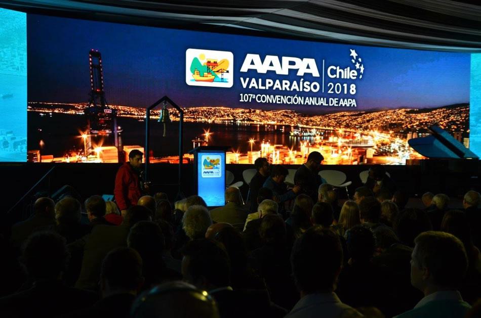 Destacada participación en importante evento internacional portuario