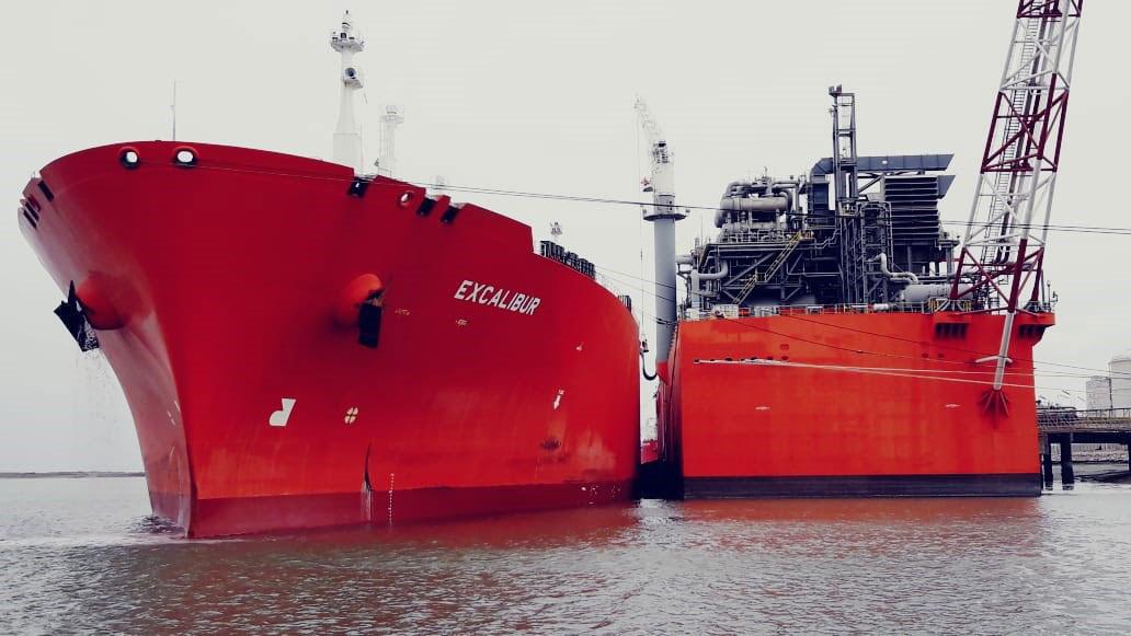 Histórica primera exportación de GNL a gran escala