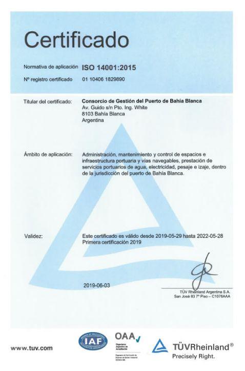Nueva Certificación Internacional