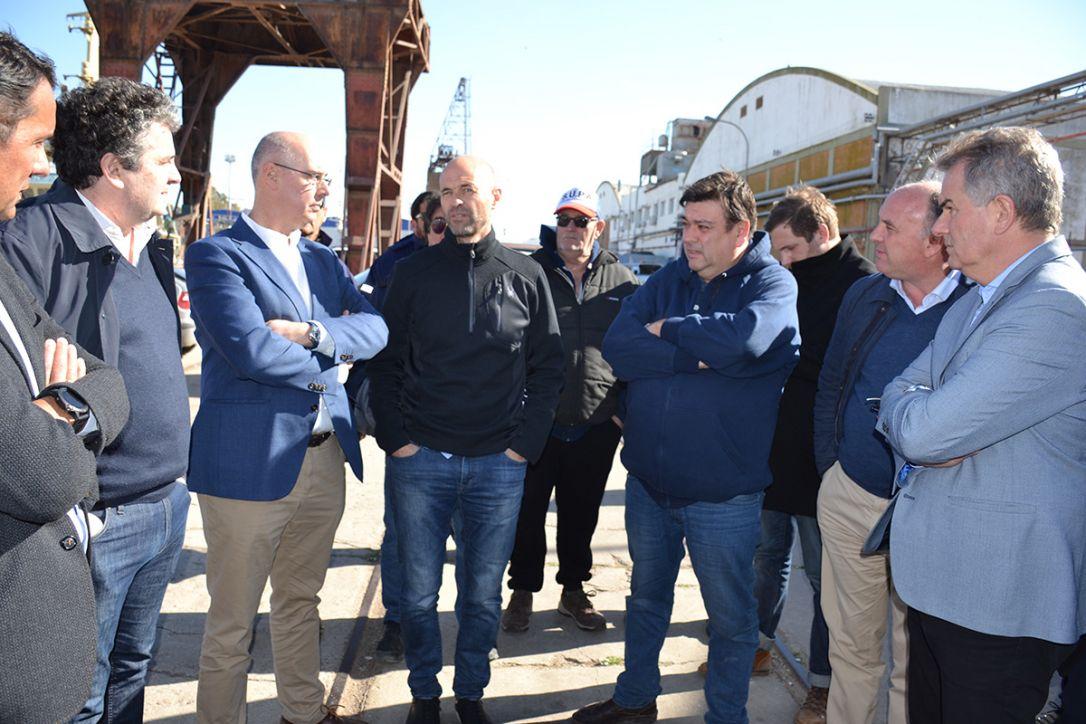Dietrich acentuó la importancia logística del Puerto de Bahía Blanca con Vaca Muerta