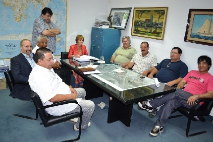 Acta acuerdo con sector pesquero