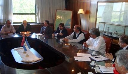 El puerto de Bahía Blanca en la primera reunión del Consejo Consultivo Nacional Portuario