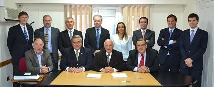 Firma del Contrato de Préstamo con la Corporación Andina de Fomento