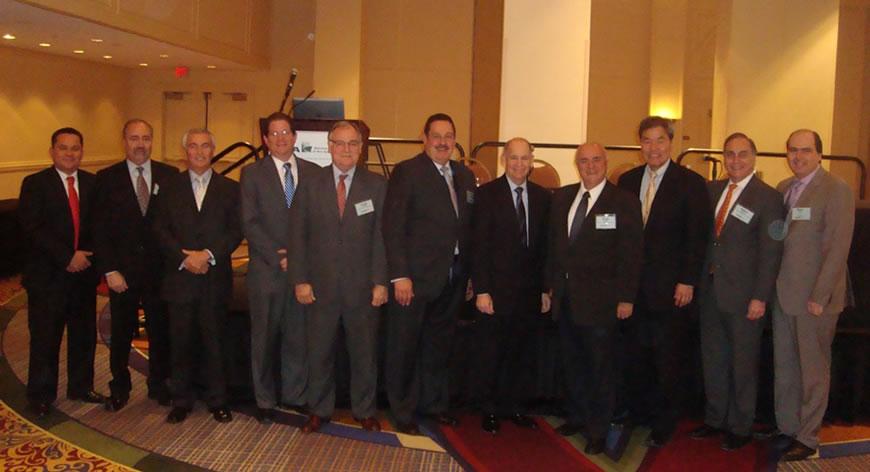 Borelli presidió la primera reunión de 2014 de la Delegación Latinoamericana de A.A.P.A.