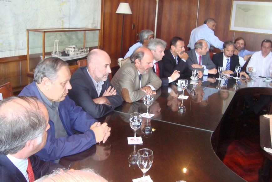 Reunión del Consejo Portuario Argentino con la Aduana y la Secretaría de Agricultura