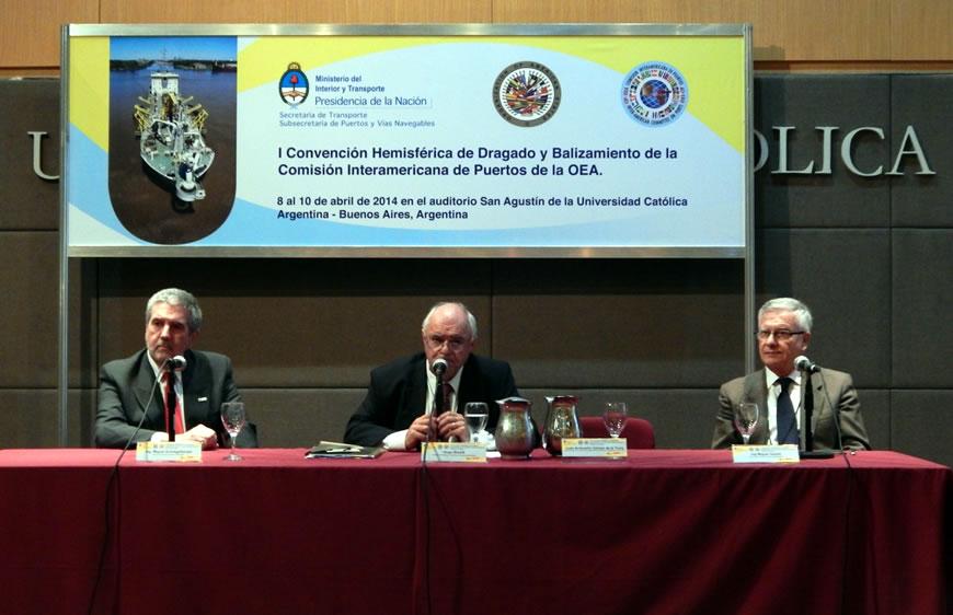 El Consorcio expuso su obra de profundización en la Convención Hemisférica de Dragado y Balizamiento