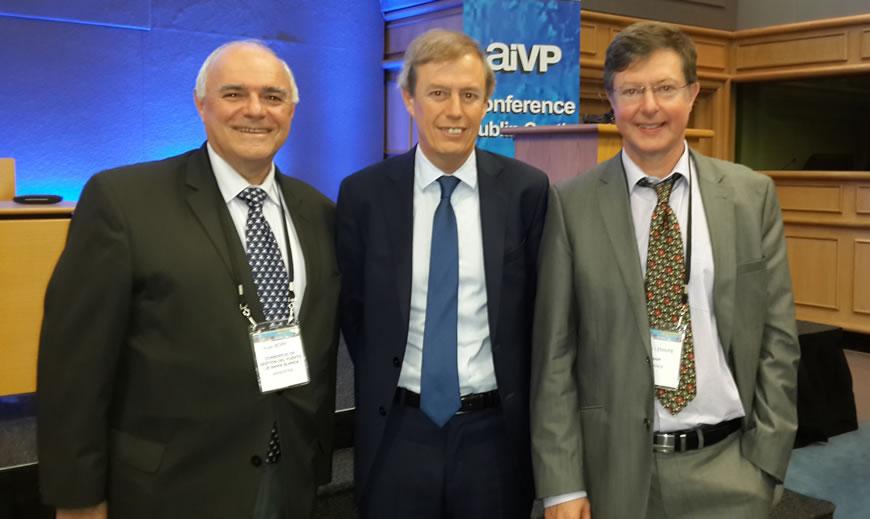 Borelli fue reelecto Vicepresidente por América del Sur por la AIVP