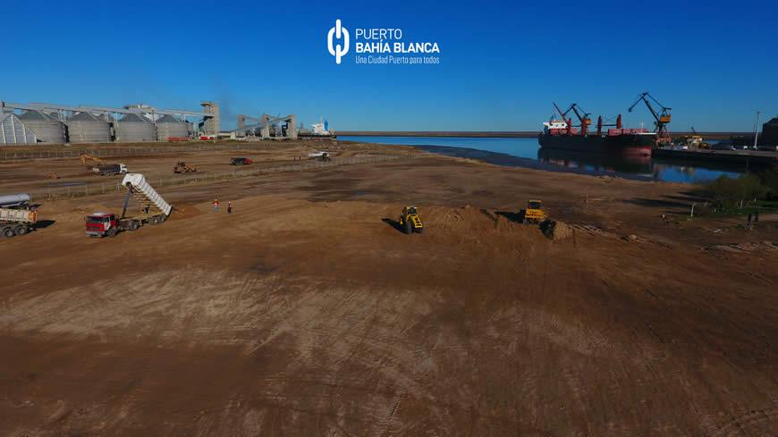 Avance obras portuarias