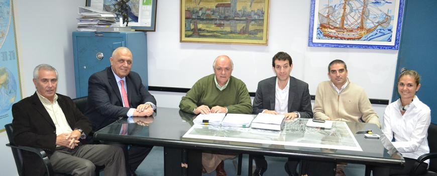 Firma del Memorandum de Entendimiento para obras portuarias destinadas a la nueva central termoeléctrica