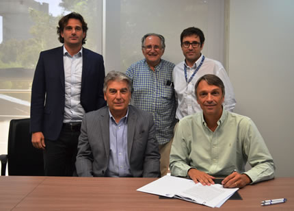 Firma del acta de tenencia del proyecto